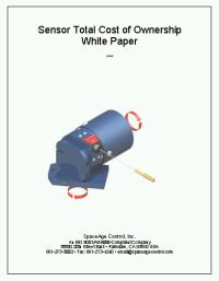 Sensor Total Cost of Ownership White Paper