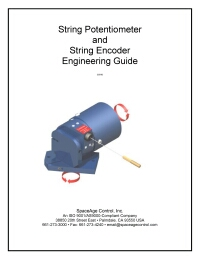 String Potentiometer and String Encoder Engineering Guide